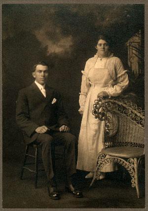 Émile Mercier et Léa Audet dit Lapointe
