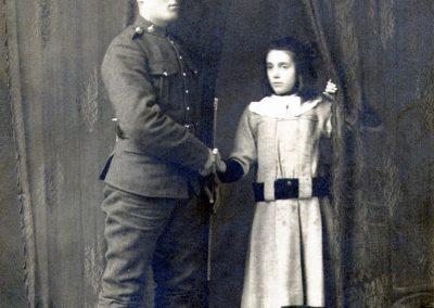Joseph et sa soeur Claire