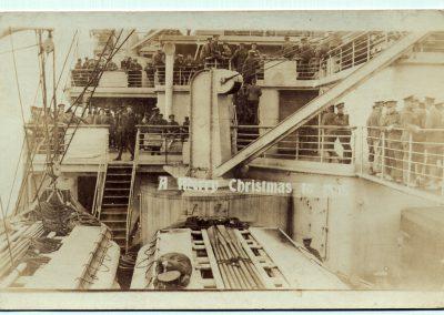 Sur le RMS Olympic
